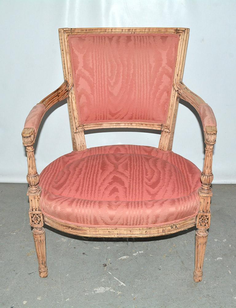 19th Century Louis XVI Bergère For Sale