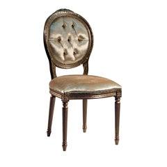 Louis XVI Bronze Chair