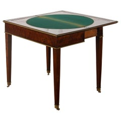 Louis XVI Card Table