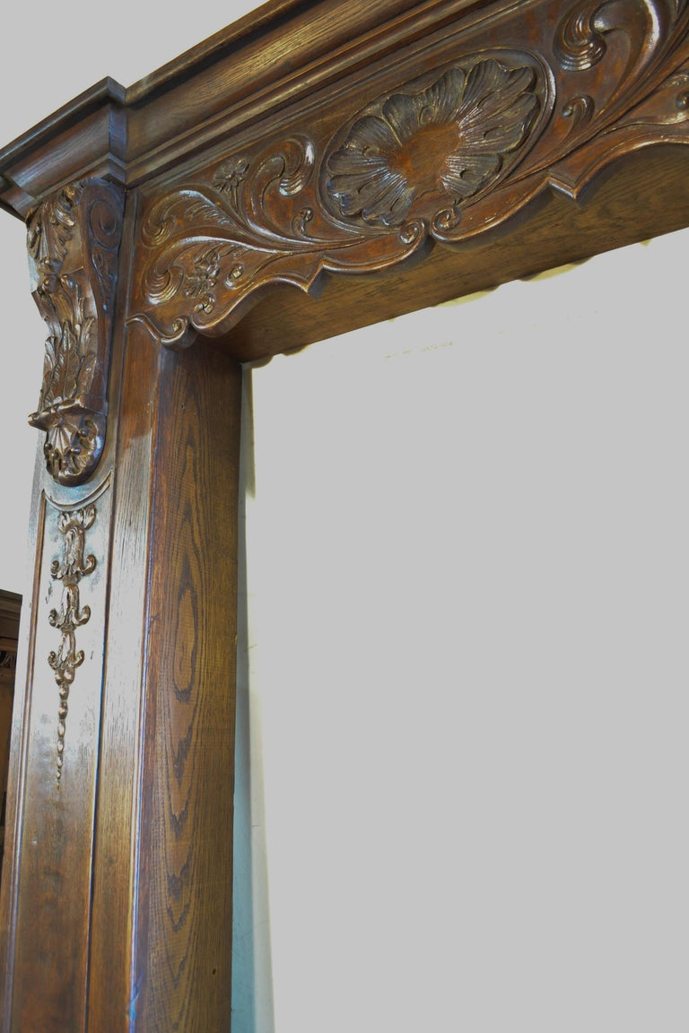 French Louis XVI Carved Door Surround For Sale
