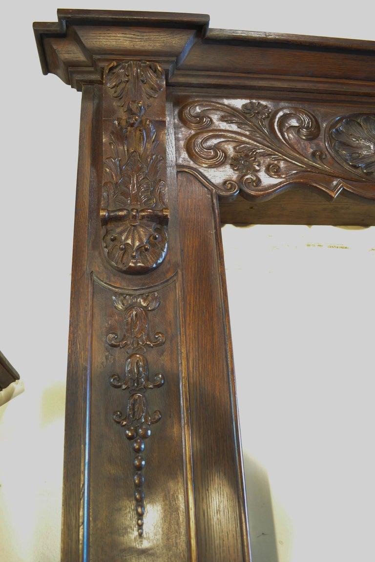 Wood Louis XVI Carved Door Surround For Sale