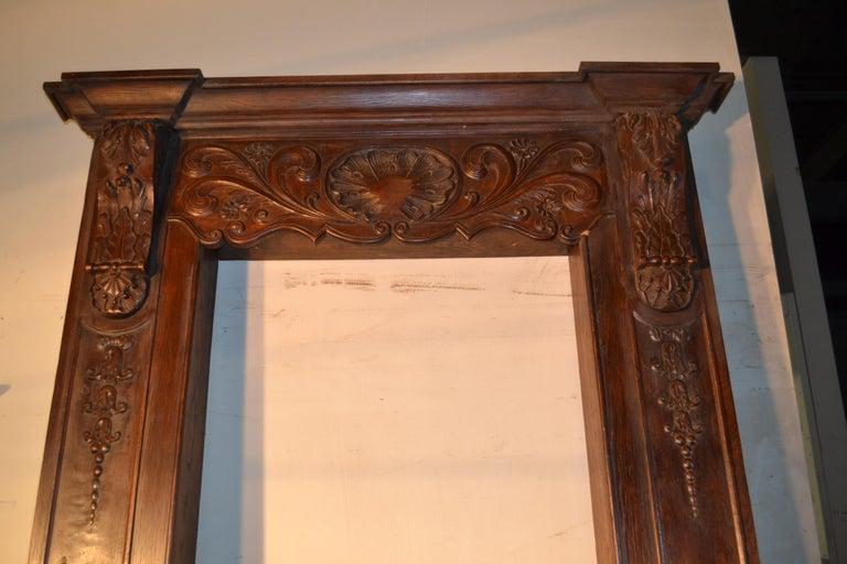 Louis XVI Carved Door Surround For Sale 1