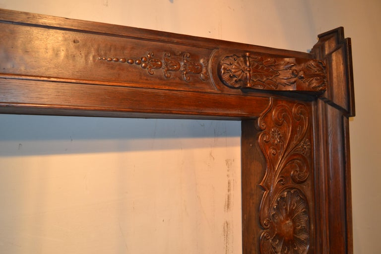 Louis XVI Carved Door Surround For Sale 2