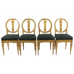 Louis XVI Chairs, 1790s, Set of Four