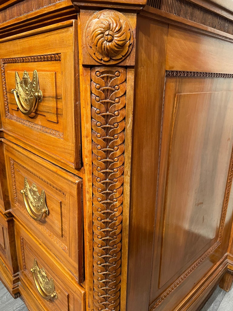 Late 18th Century Louis XVI Chest of Drawers, South West Germany, 1780 For Sale