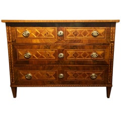 Louis XVI Chest of Drawers, South German, 1780