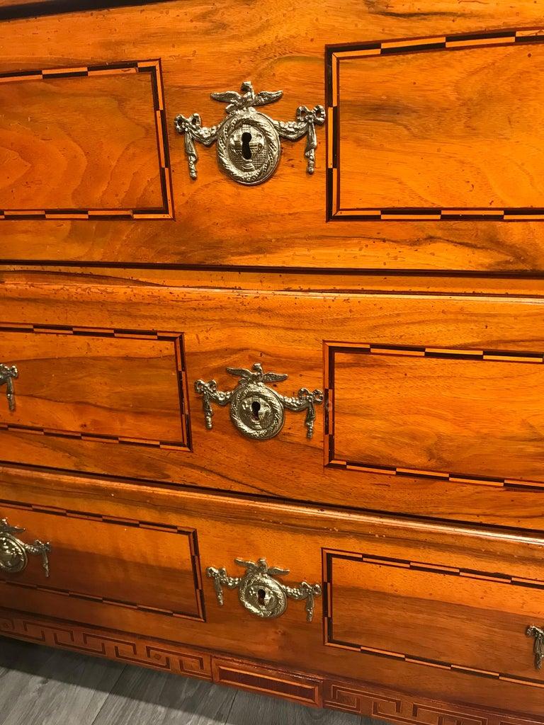 Walnut Louis XVI Dresser, South Germany 1780 For Sale