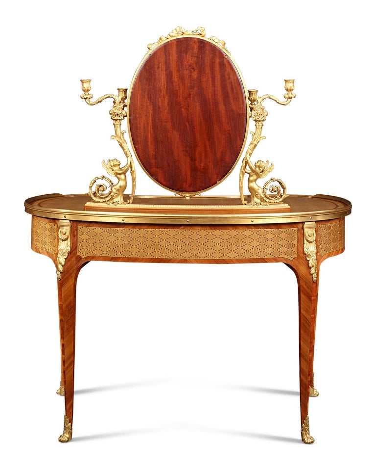 Louis XVI Dressing Table by Paul Sormani In Excellent Condition For Sale In New Orleans, LA