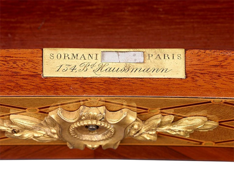 19th Century Louis XVI Dressing Table by Paul Sormani For Sale