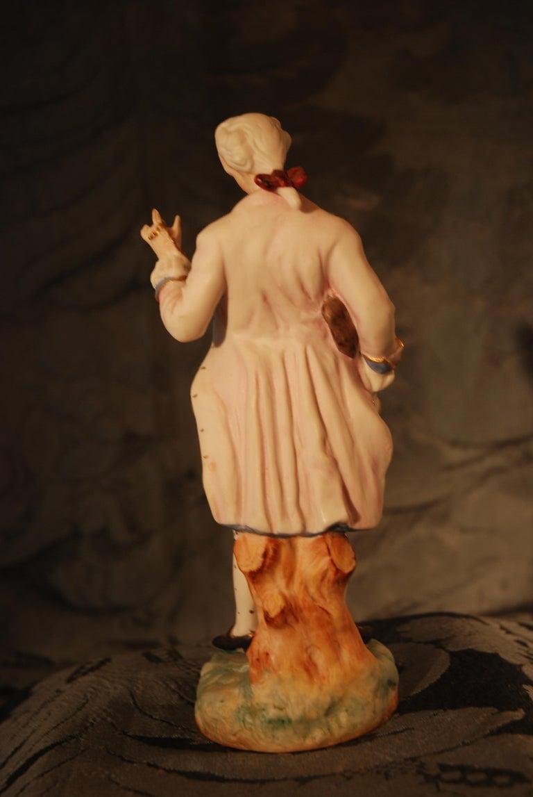 Porcelain Louis XVI Figurine For Sale