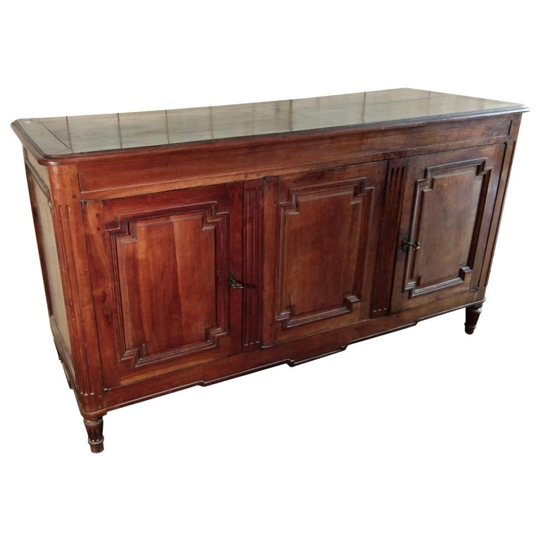 Louis XVI French Cherry Buffet For Sale