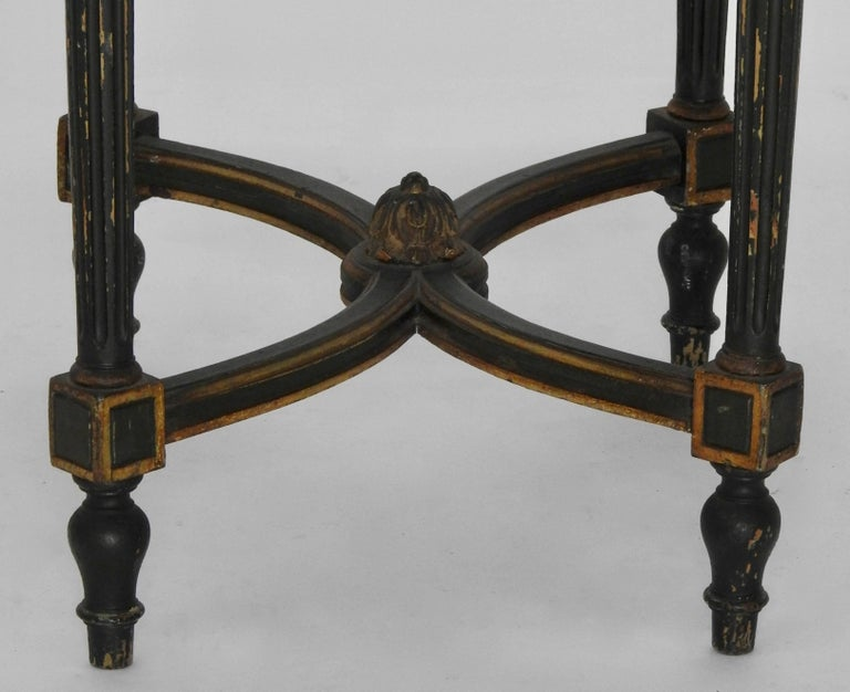 Louis XVI French Oval Marble-Top Table For Sale 1