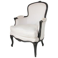 Louis XV French Provincial Style Open Armchair
