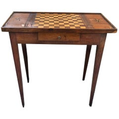 Antique Louis XVI Style Game Table
