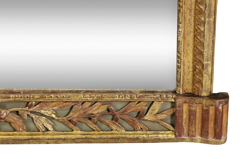 Other Louis XVI Giltwood Pier Mirror For Sale