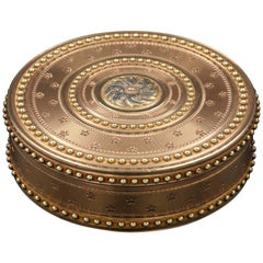 "Louis XVI Gold Box ""Drageoir"" by Alexis Proffit"
