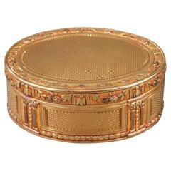 Louis XVI Gold Snuff Box, Circa 1778
