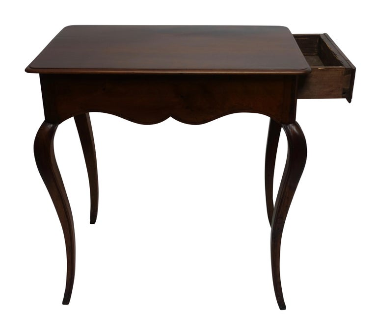 Louis XVI Mahogany Work Table with Single Drawer, French, circa 1790 For Sale 2