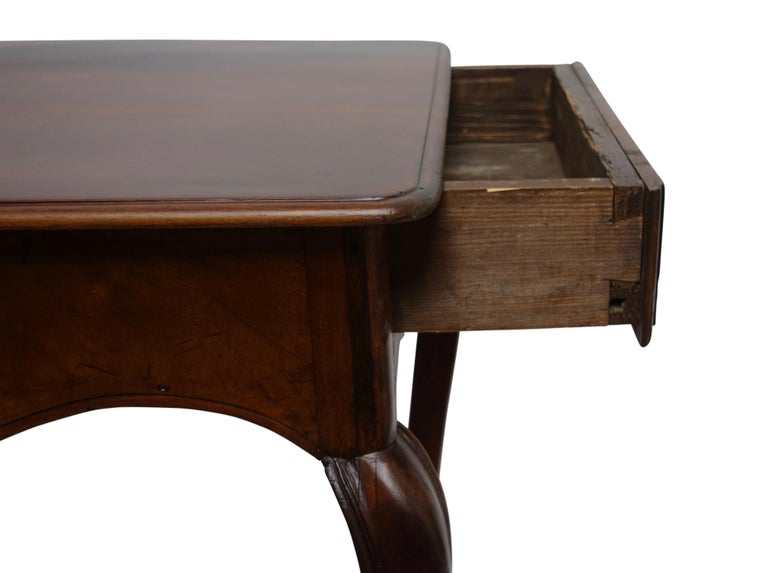 Louis XVI Mahogany Work Table with Single Drawer, French, circa 1790 For Sale 3