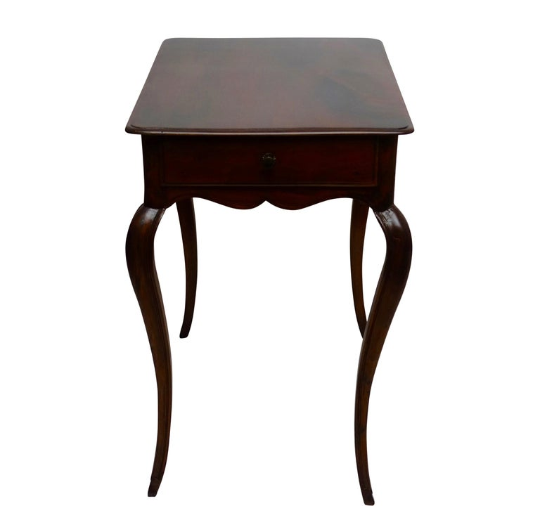 Louis XVI Mahogany Work Table with Single Drawer, French, circa 1790 For Sale 5