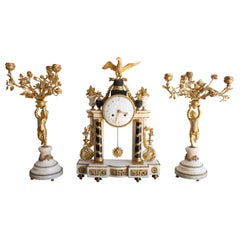 Louis XVI Mantel Set