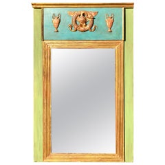Wood Trumeau Mirrors