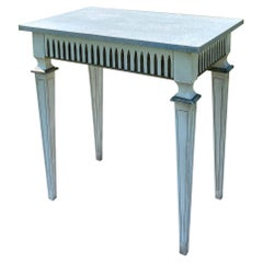 Louis XVI Neoclassical Style Painted Console or Center Table