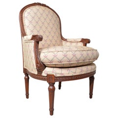 Louis XVI Occasional Easy Chair by Hickory Heirloom