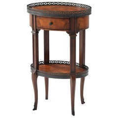 Louis XVI Oval Side Table