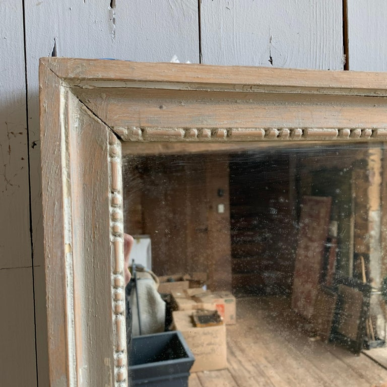 Louis XVI Painted Mirror, 18th Century In Good Condition For Sale In Doylestown, PA
