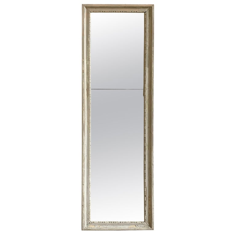 Louis XVI Painted Mirror, 18th Century For Sale