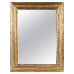 Louis XVI Period Giltwood Mirror