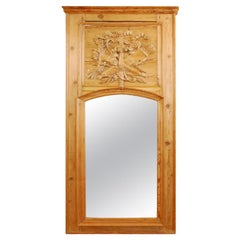Louis XVI Period Trumeau Mirror