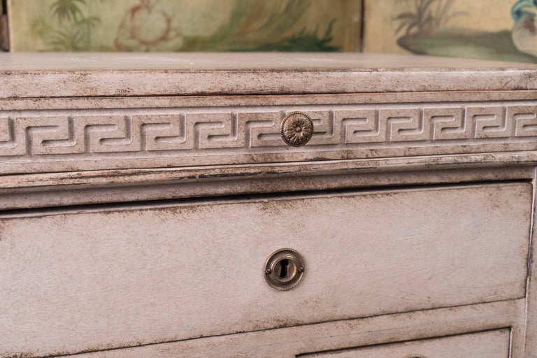 French Louis XVI Petit Painted Commode For Sale