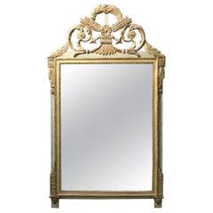 Louis XVI Provincial Style Giltwood Mirror