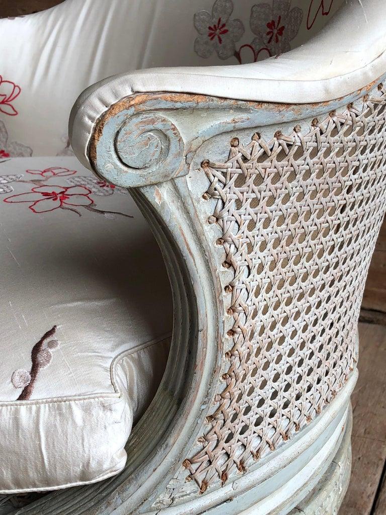 "18th Century Louis XVI Revolving Desk Chair, Signed ""A. Gailliard"" circa 1785 For Sale"