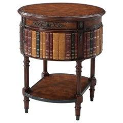 Louis XVI Round Lamp Table