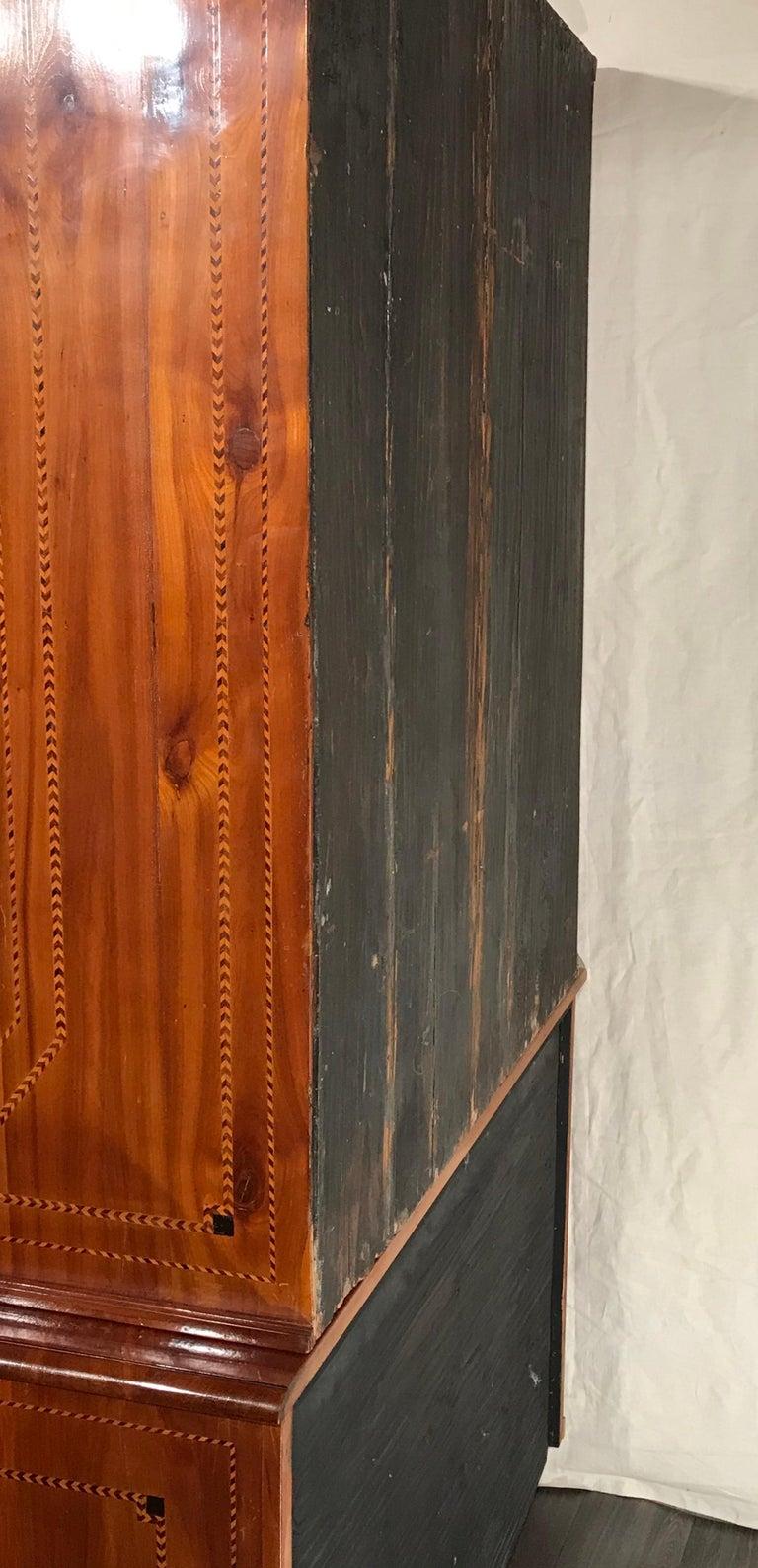 Louis XVI Secretary Bookcase, South German 1780, Cherry For Sale 2