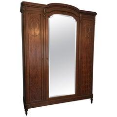 Louis XVI Style 3-Door Armoire