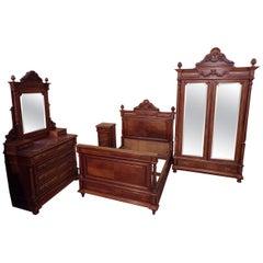 Louis XVI Style 4-Piece Bedroom Set, circa 1900