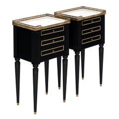 Louis XVI Style Antique Side Tables