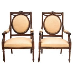 Louis XVI Style Armchair Set, France, circa 1880