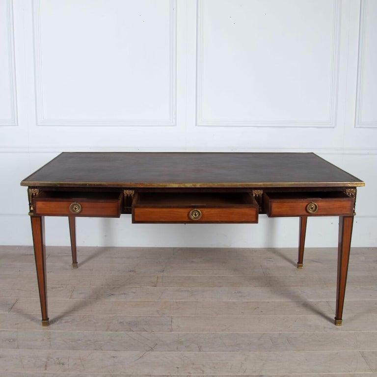 French Louis XVI Style Bureau Plat For Sale