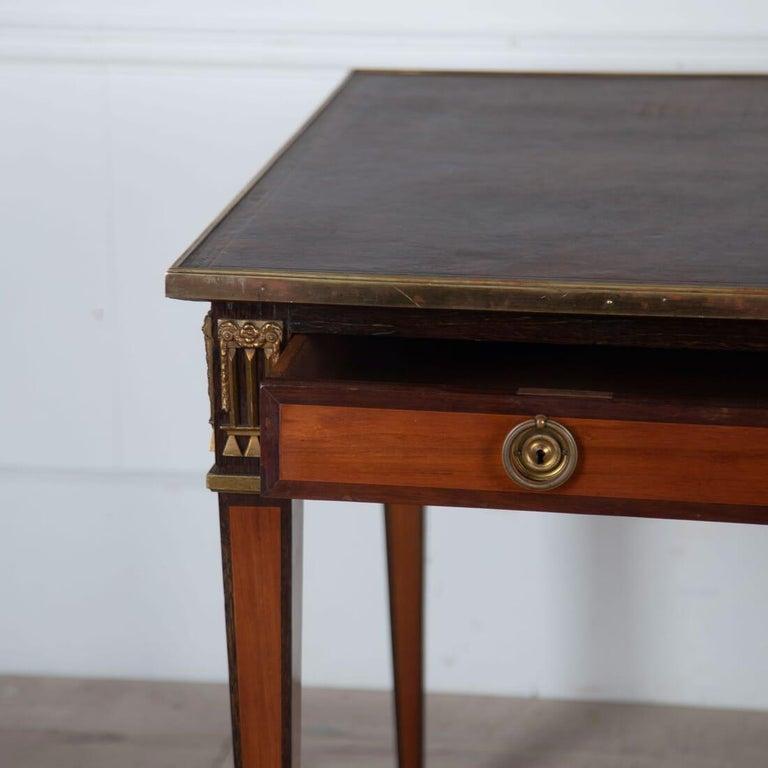 20th Century Louis XVI Style Bureau Plat For Sale