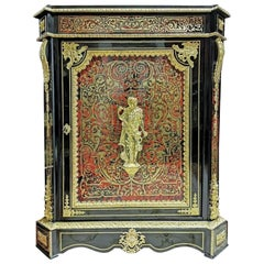 Louis XVI Style Cabinet, Boulle Marquetry, France