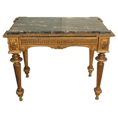 LOUIS XVI STYLE CENTER TABLE W DRAWER