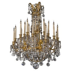 Louis XVI Style Chandelier by Baccarat