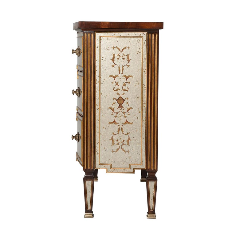 Louis XVI Style Chest of Drawers In New Condition For Sale In Port Chester, NY