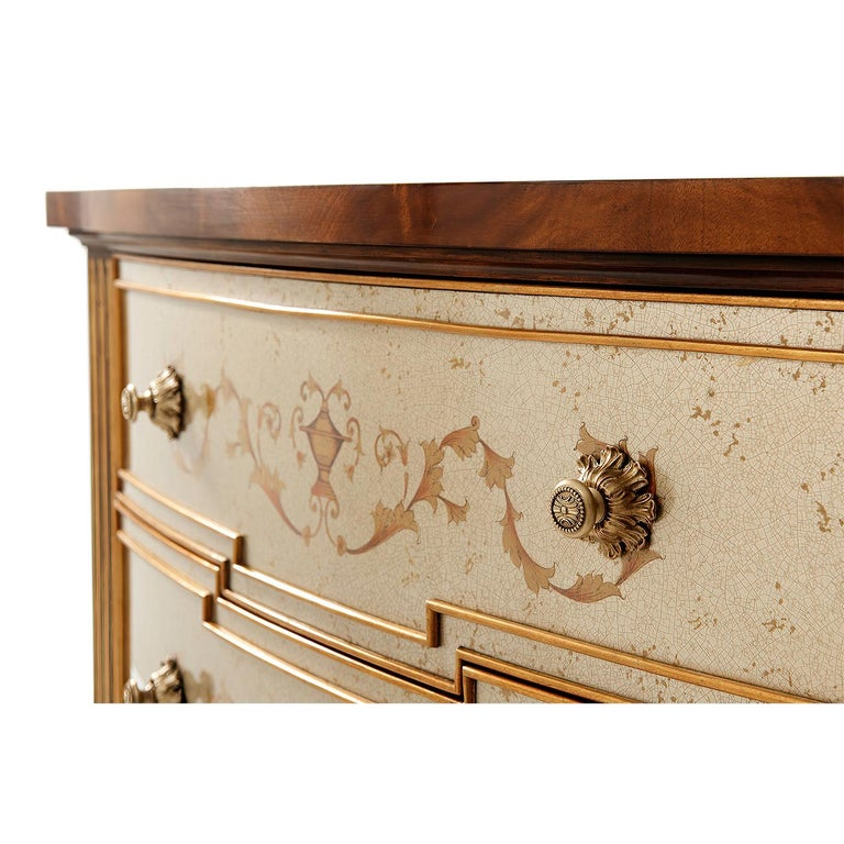 Contemporary Louis XVI Style Chest of Drawers For Sale