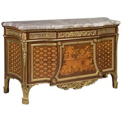 Louis XVI Style Commode after Jean-Henri Riesener by François Linke, circa 1905